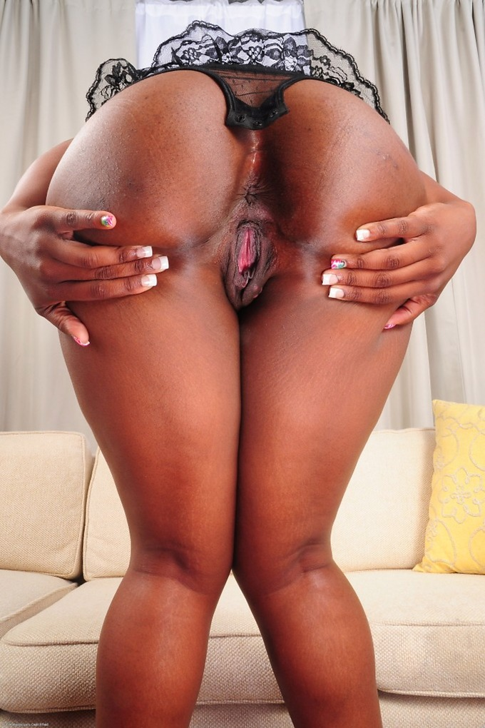 Really. Your ebony thick model ass